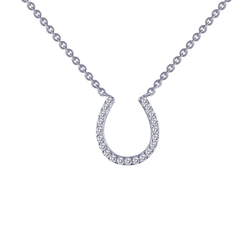 Lafonn Horseshoe Pendant Necklace