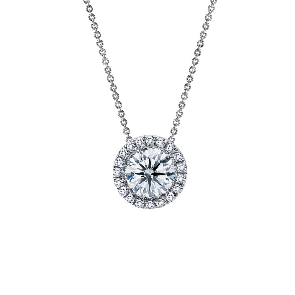 Lafonn Circle Diamond Necklace