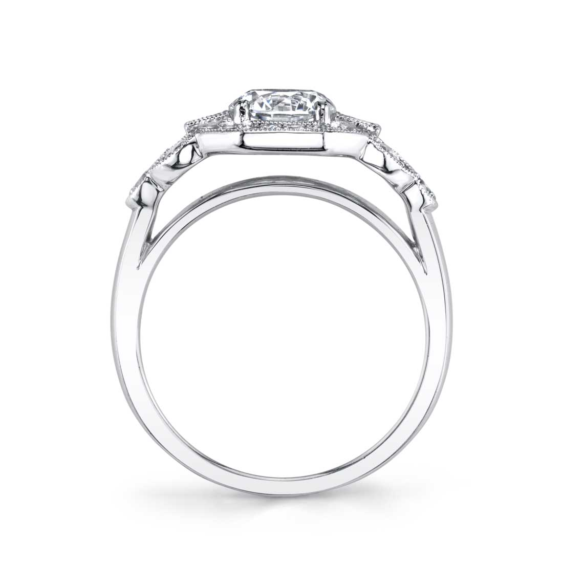 Sylvie - Francesca Vintage Inspired Engagement Ring