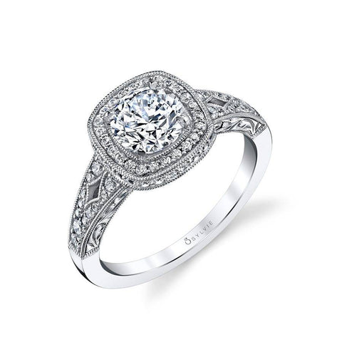 Sylvie - Marlene Vintage Inspired Engagement Ring