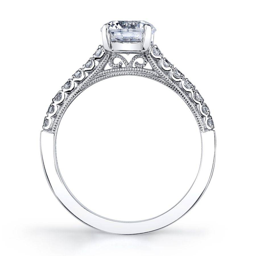 Sylvie - Clara Classic Solitaire Engagement Ring