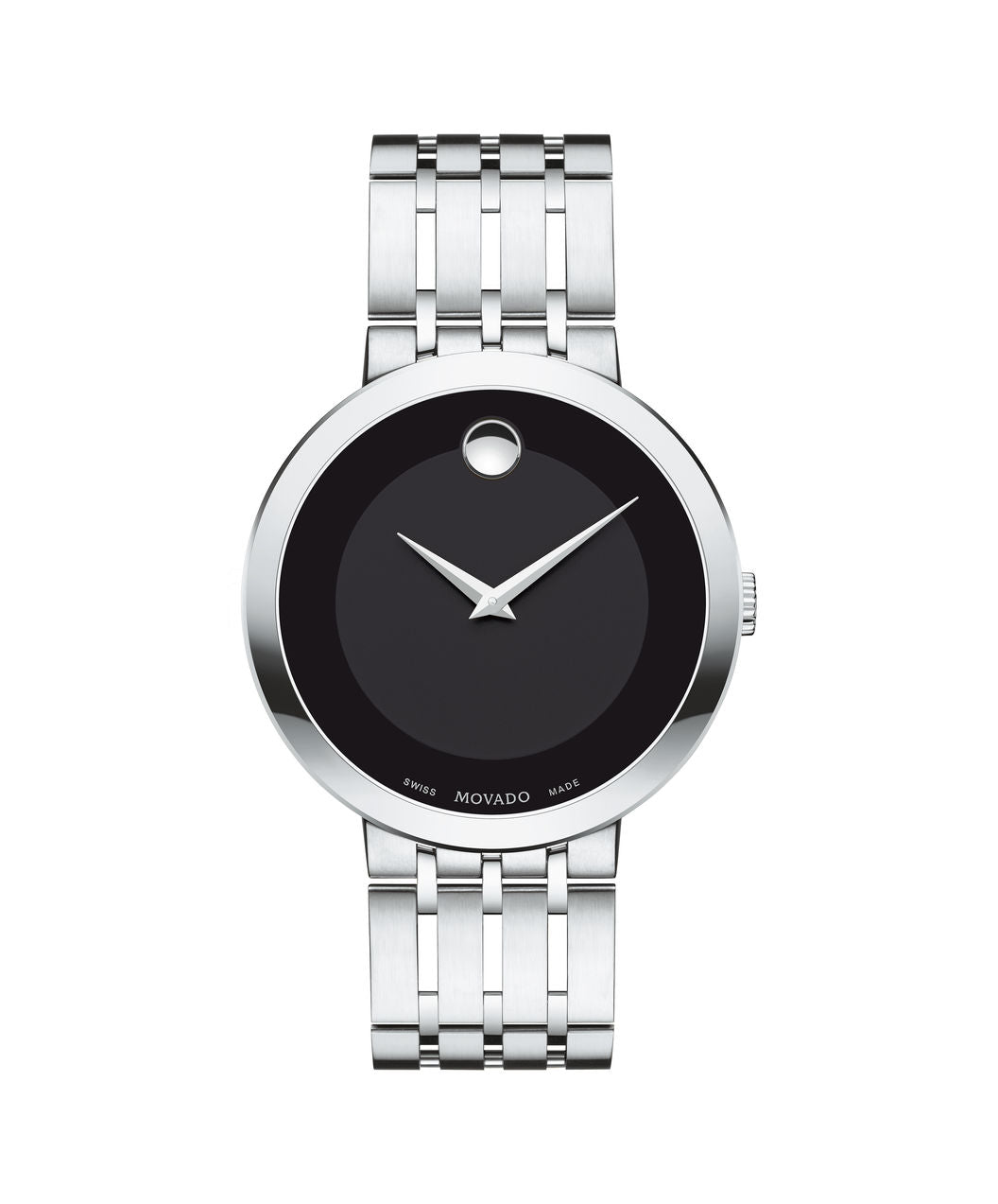 Movado Esperanza Men's Watch with Black Dial