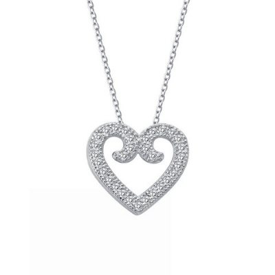 LaFonn Elegance Heart Necklace