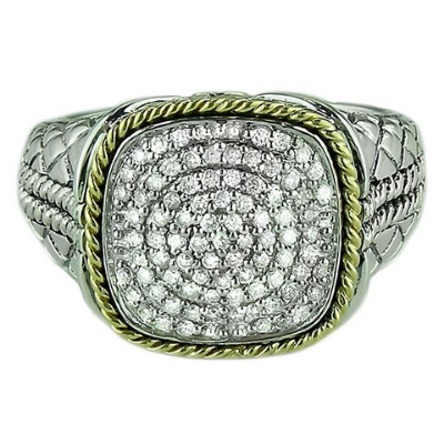Andrea Candela 18KT & Diamond Ring, Lazo Collection