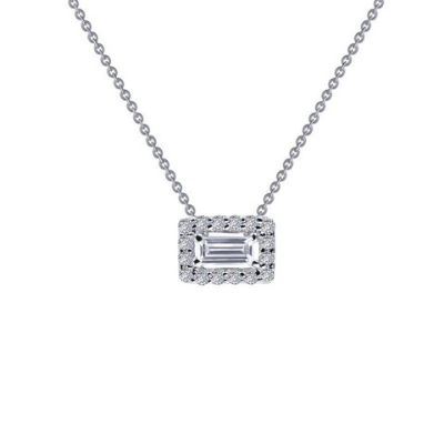 LaFonn Timeless Elegance Baguette Necklace