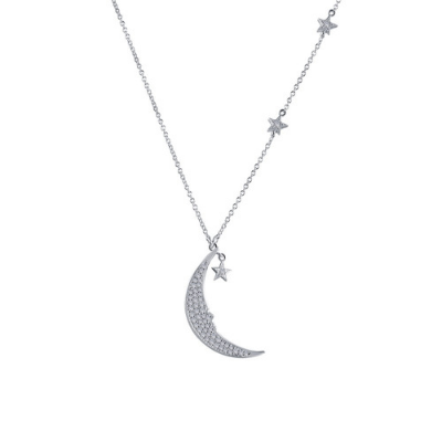 LaFonn Moon And Star Necklace