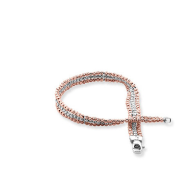 Officina Bernardi 3-Row Moon Bead Bracelets