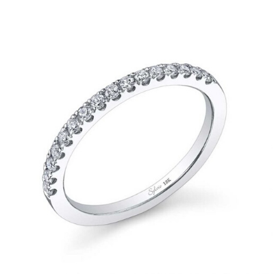 Sylvie - Classic Diamond Wedding Band