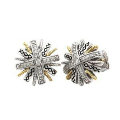 Andrea Candela Earrings Lazo de Brillantes Collection