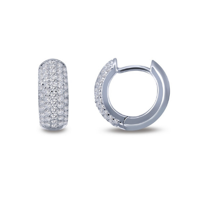 Lafonn Classic Huggie Hoop Earrings