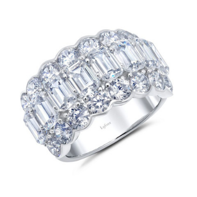 LaFonn Emerald Cut Cocktail Ring