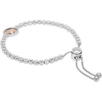 Officina Bernardi Adjustable Moon Bead Bracelet