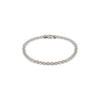 Officina Bernardi 4 MM Moon Bead Bracelet