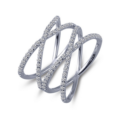 LaFonn Signature Cris-Cross Ring