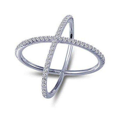 LaFonn Signature Cross-Over Ring