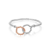 Officina Bernardi Interlocking Circles Bracelet