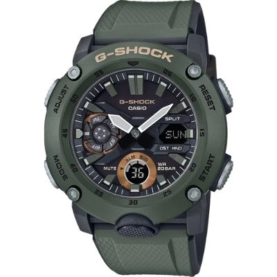 Casio G-Shock Carbon Core Guard Analog Digital Watch GA2000-3A