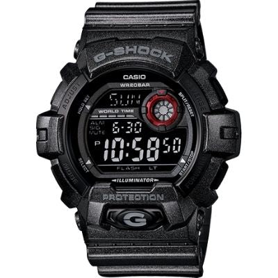 Casio G-Shock Black Dial Men's Quartz Watch G8900SH-1