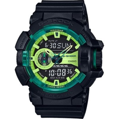 Casio G-Shock Black Analog Digital Watch GA400LY-1A