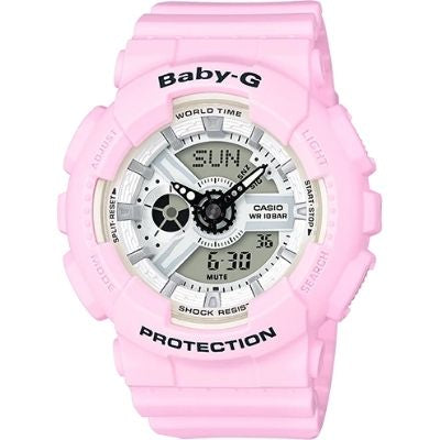 Baby-G BA110BE-4A Analog-Digital Beach Watch (Pink)