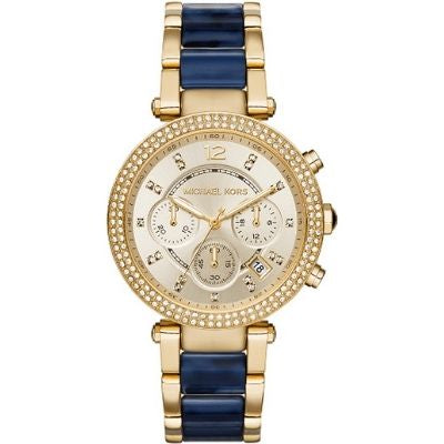 Michael Kors Women's Parker MK6238 Gold Stainless-Steel Quartz Fashion Watch