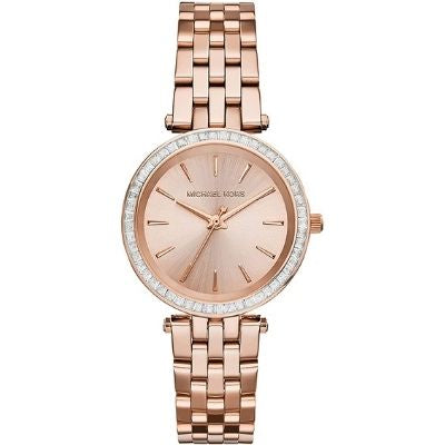 Michael Kors Darci Three-Hand Watch with Glitz Accents, 33mm MK3366