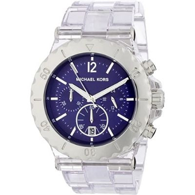 Michael Kors Women's Bel Air Chronograph Blue Dial Watch MK5409
