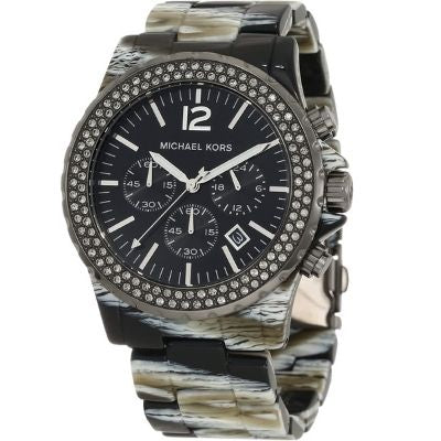 Michael Kors Women's Madison Zebra Watch MK5599