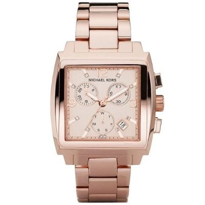 Michael Kors Women's Chronograph Rose Gold Watch MK5331