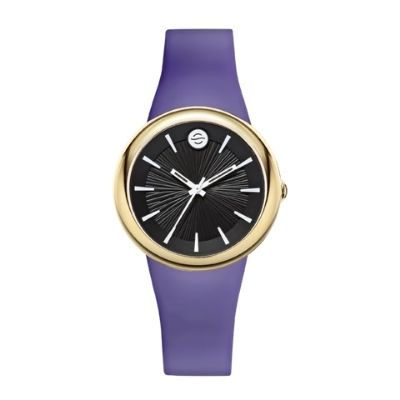 Smalll Purple Band Ladies Watch - Colors Collection F36G-LCB-L