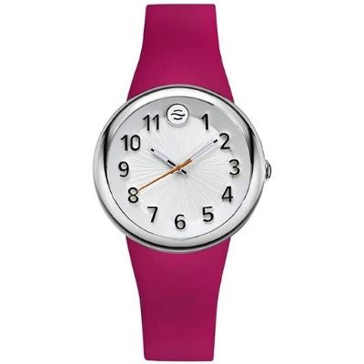 Philip Stein Analog Display Smart Watch Pink Silicone F36S-SW-HP