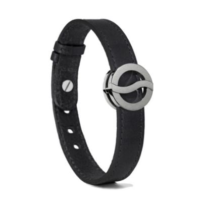 Philip Stein Horizon Bracelet-Large Steel Matte Icon Smooth Black 10L-BBSM-CAGRSTXL