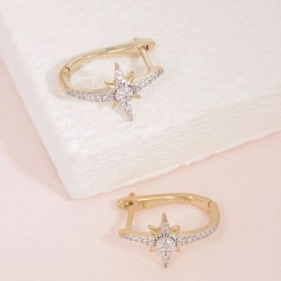 The Brightest Star Is You Earrings