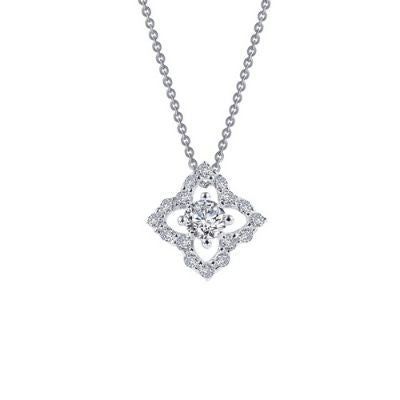 Lafonn 0.49 ct tw Flower Necklace