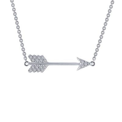 Lafonn 0.19 ct tw Arrow Necklace
