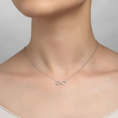 Lafonn 0.33 CTW Infinity Necklace