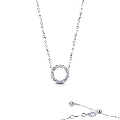 Lafonn 0.41 CTW Open Circle Necklace