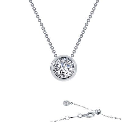 Lafonn Solitaire Slider Necklace