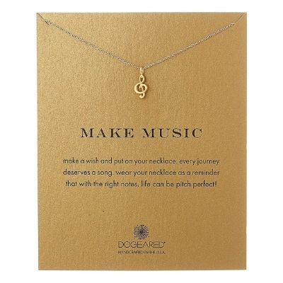 make music inspirational necklace