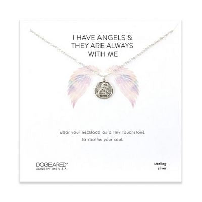 I have angels mini angel coin necklace