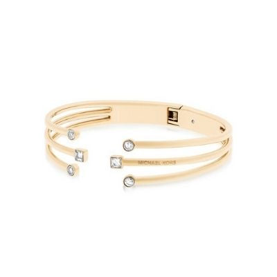 Michael Kors CZ Open Cut Bracelet