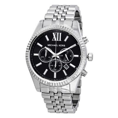 Michael Kors Lexington Chronograph Black Dial Men's Watch MK8602