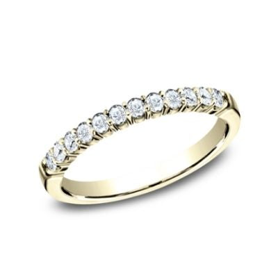 Benchmark 2.5mm 12 Ideal Diamonds Ladies Band