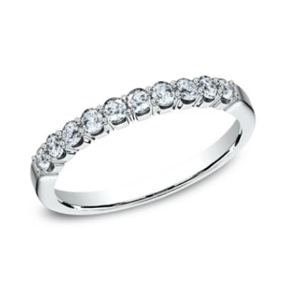Benchmark 2.5mm 10 Ideal Diamonds Ladies Band