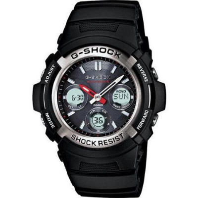 Casio G-Shock Mens Atomic Solar AWGM100-1A