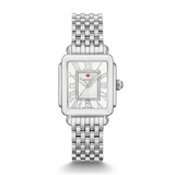 Michele Deco Quartz White Dial Watch