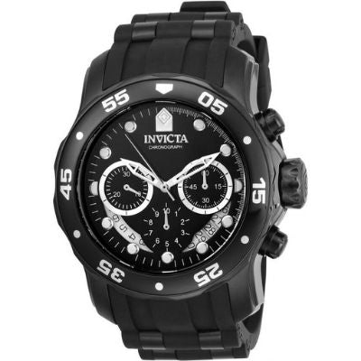 Invicta 48mm Pro Diver Scuba Chronograph Polyurethane Strap Watch 21930