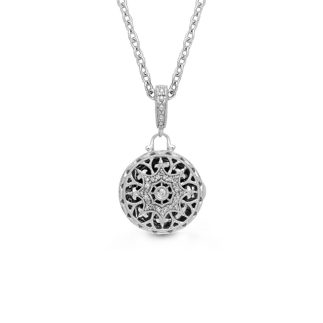 Bea Petite Locket Necklace