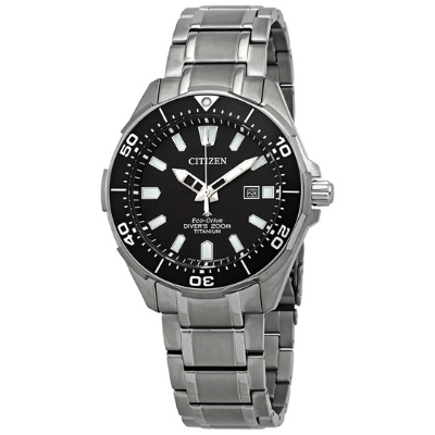 Citizen Promaster Diver Luminous Black Dial Men's Watch BN0200-56E