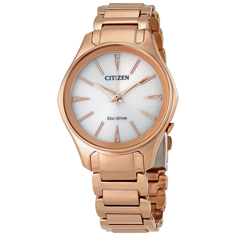 Ladies Rose Gold Modena Citizen Watch EM0593-56A
